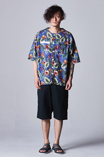 VIRGO VG-JKT-189 U.N.V big aloha summer jkt BLUE