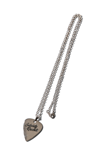 Subciety (サブサエティ) METAL NECKLACE-VYNYL- SILVER