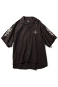 Subciety (サブサエティ) DROP SHOULDER SHIRT BLACK