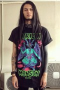 MARILYN MANSON×KILL STAR CLOTHING When I'm God T-Shirt