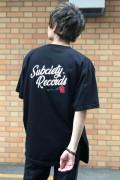 Subciety (サブサエティ) VINYL S/S BLACK