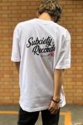 Subciety (サブサエティ) VINYL S/S WHITE