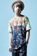 Zephyren(ゼファレン)MIX BIG TEE S/S ALOHA / MIX