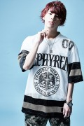 Zephyren(ゼファレン)HOCKEY SHIRT S/S WHITE