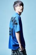 Zephyren(ゼファレン)DOLMAN BIG TEE S/S BLUE
