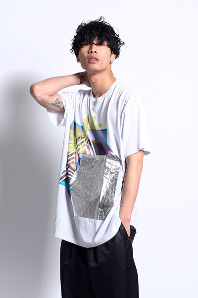 PARADOX GRAPHIC BIG TEE TWO FACE