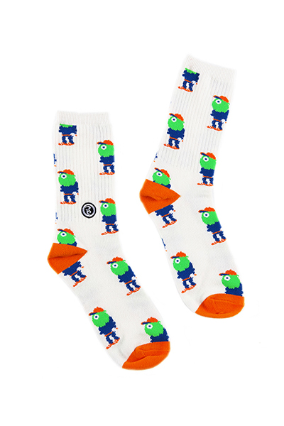ROLLING CRADLE CYCLOPS SOX / White