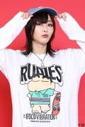 RUDIE'S x CRAYON SHINCHAN SKATE LS-T WHITE