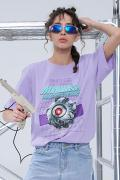 MISHKA(ミシカ) MSS200076 T-SHIRTS Purple