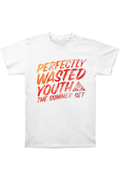 THE SUMMER SET Perfectly Wasted Youth White - T-Shirt