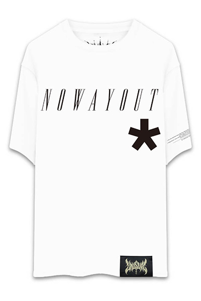 UNUSUAL NO WAY OUT T-SHIRT WHITE