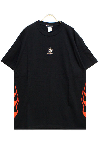 NOT COMMON SENSE WWF×NCS MM TEE BLACK