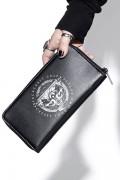 BLACK CRAFT Protection Moth - Zip Around Wallet