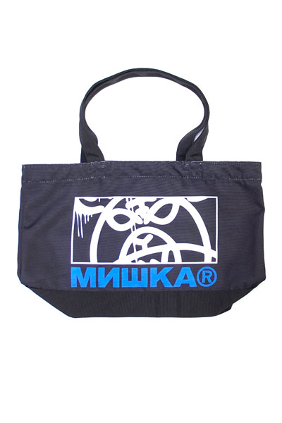 MISHKA (ミシカ) EXSP18001	 MOP BOX TOTE BLACK