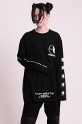 "KAVANE Clothing ""IGNORANCE""Long Sleeve(Blk)"