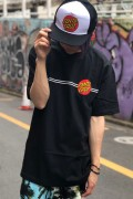 SANTA CRUZ Classic Dot S/S T-Shirt Black