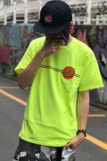SANTA CRUZ Classic Dot S/S T-Shirt Green (Neon Yellow)