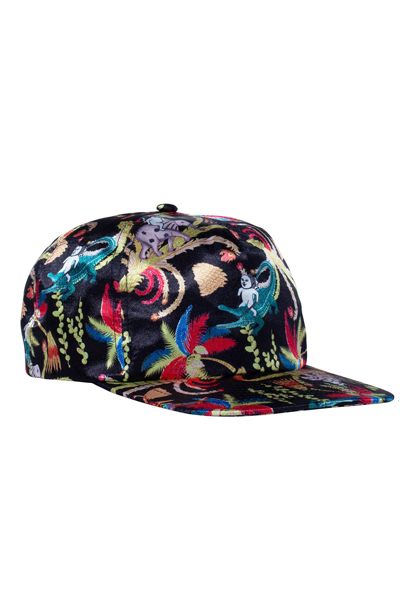 RIPNDIP LA March 5 Panel Snapback (Black)