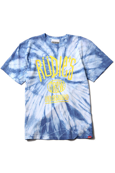 RUDIE'S DRAWING DYED TEE SRW