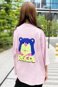 ROLLING CRADLE RGCDL BEAR SUPER BIG TEE / PINK
