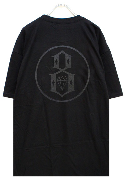 REBEL8 REFLECTIVE 8 TEE BLACK