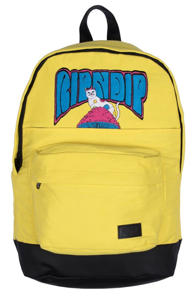 RIPNDIP Psychedelic Backpack (Yellow)