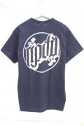 RIP DESIGN WORXX サークルロゴTシャツ BLACK/WHITE