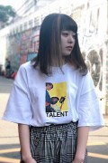 "LILWHITE(dot) LW-19SS-T03 ""TALENT"" TEE WHITE"