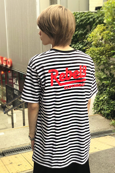 REBEL8 WAILERS STRIPE SST MULTI