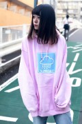 SLEEPING TABLET RAIN [ PULLOVER ] PINK