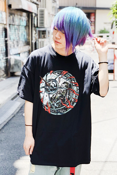MISHKA SP181304 GUNNER KEEP WATCH TEE BLACK