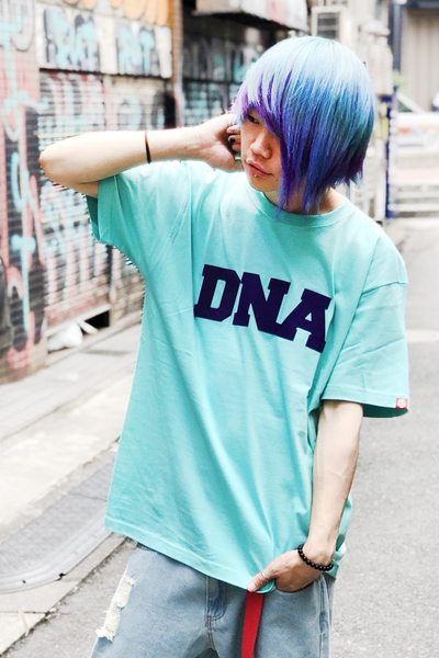 PUNK DRUNKERS DNA.TEE MINT