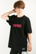 HEDWiNG Slimy Logo T-shirt Black