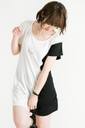 HEDWiNG Crosscut Onepiece White