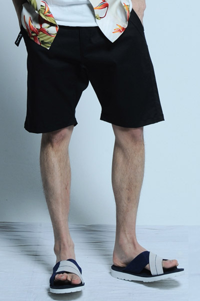 VIRGO EXALTED SHORTS BLACK