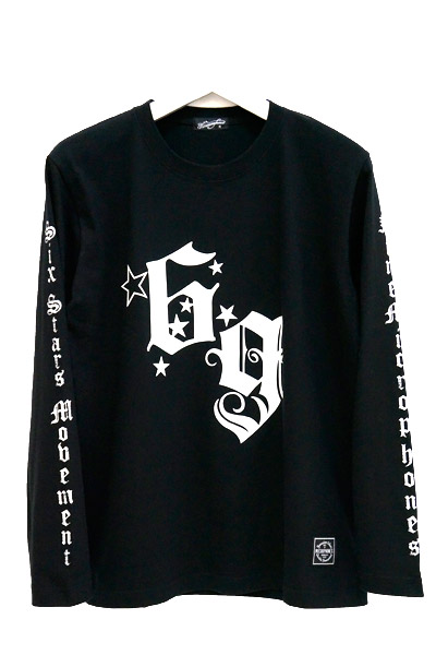 NineMicrophones K PHOTO TEE L/S BLACK-WHITE