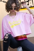 Subciety (サブサエティ) 【WOMENS】BIG TEE-GLORIOUS- PINK