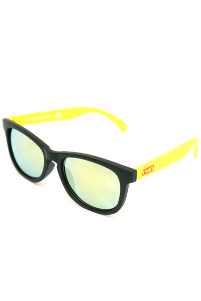 SQUARE BOX LOGO SUNGLASS YELLOW