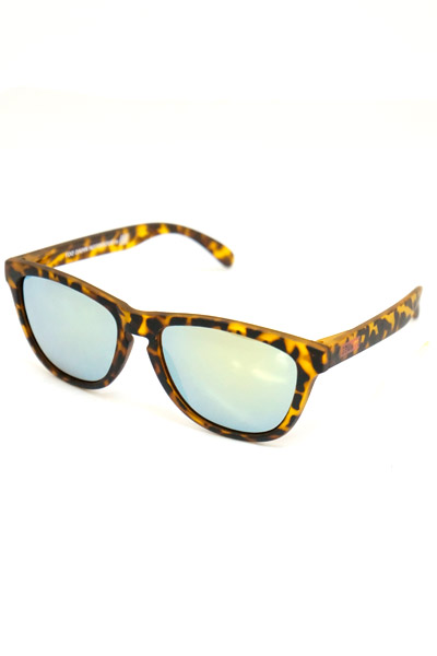 SQUARE BOX LOGO SUNGLASS LEOPRAD