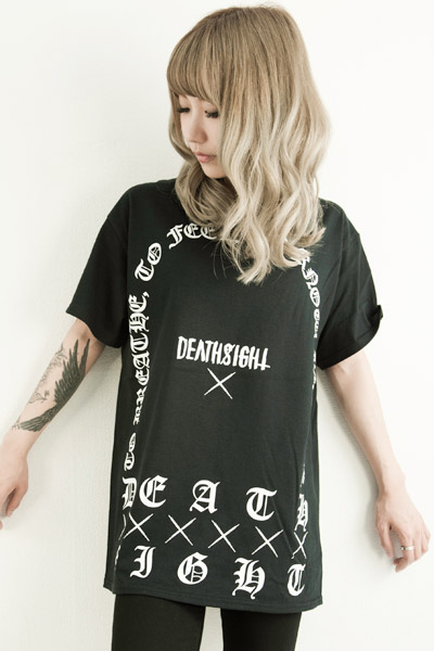 deathsight	grave tees BLACK
