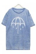 BRING ME THE HORIZON UMBRELLA WITH BURN OUT FINISHING