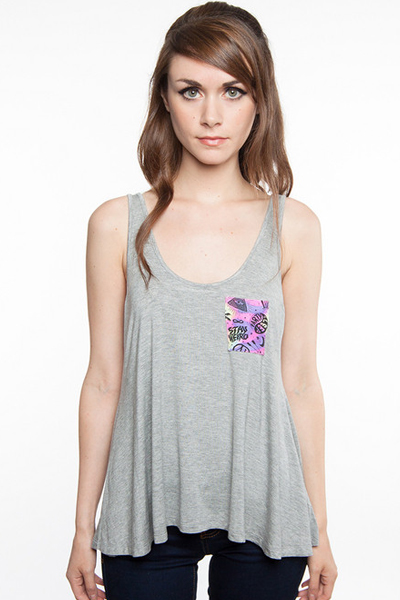 GLAMOUR KILLS WASTED DAZE POCKET TANK