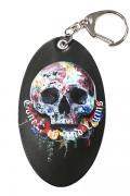 GoneR GR21AC002 Rose Earth Skull Key Holder Black