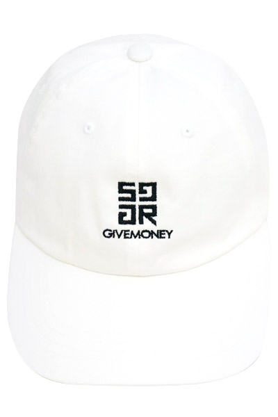 SQUARE GM PANEL CAP WHITE