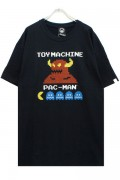 TOY MACHINE PTM19ST02 PACMAN TOYMONSTER ST BLACK