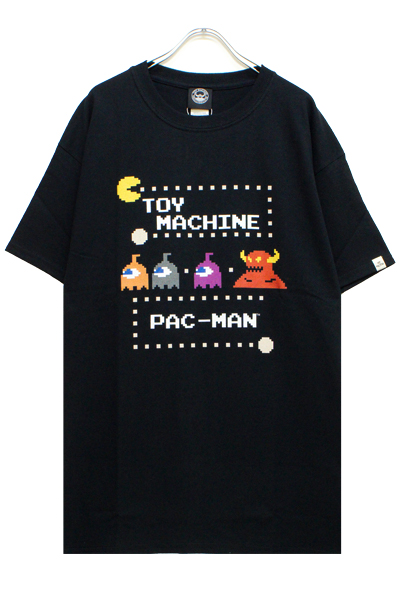 TOY MACHINE PTM19ST04 PACMAN PACMONSTER SECT ST BLACK