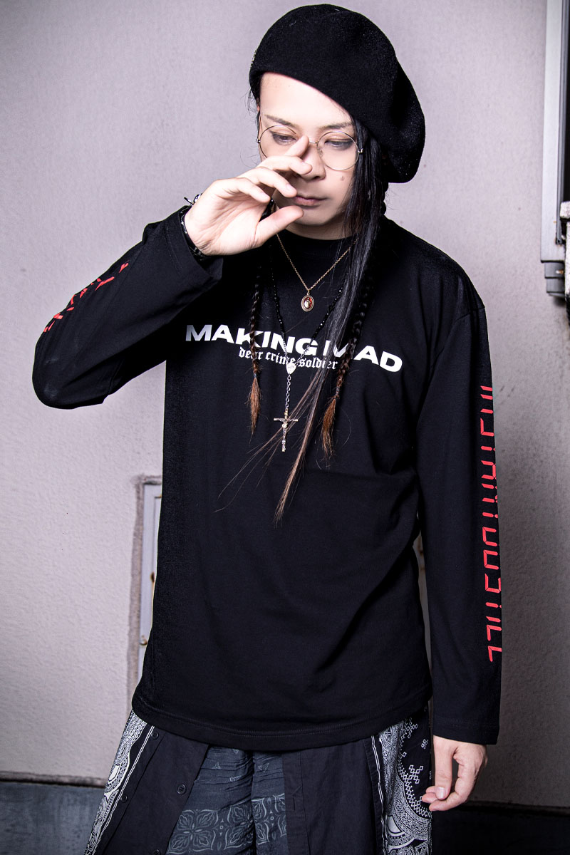 MUCC×KAVANE Clothing×GEKIROCK Clothing SPECIALコラボロンT WHITE