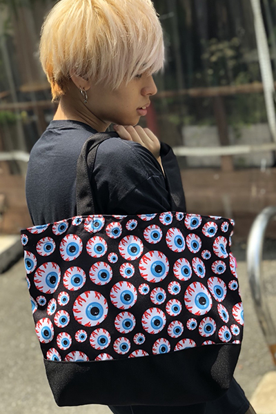 MISHKA (ミシカ) EXSP18003 KEEP WATCH PATTERN TOTE