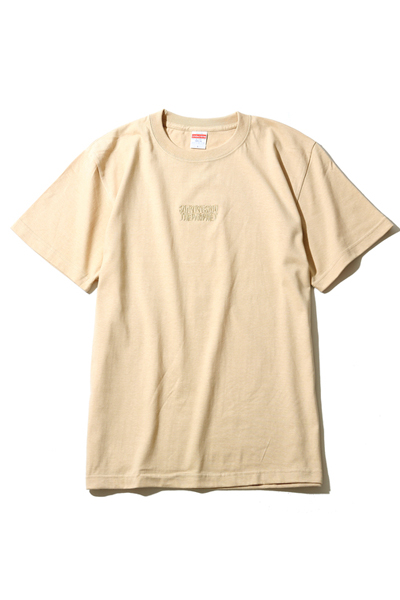 Survive Said The Prophet EMBROIDERY LOGO TEE BEIGE