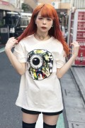 MISHKA (ミシカ) MAW170006 COLLAGE KW T-SHIRT WHITE